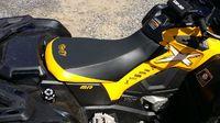 Чехол сидения для квадроцикла BRP Outlander G2 (черно-желтый) 708000724-HCC