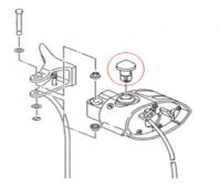 Кнопка аварийной остановки SPI снегохода Yamaha SM-01552 (8GL-86284-09-00)