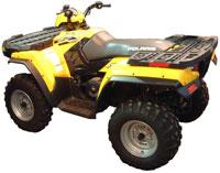 Расширители арок для квадроцикла Polaris Sportsman 400 450 500 600 700 800 Direction 2 Inc