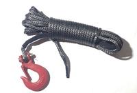 Трос синтетический 6мм X 15 м со съемным крюком для лебедки 6X15DNHG-NEW