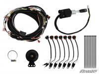 Комплект поворотников с сигналом SuperATV для Polaris RZR 900 1000 2015+ TSK-P-RZR-003