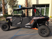 Комплект дверей Blingstar для квадроцикла Polaris RZR-4 1000XP UTV-2501TXT